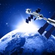 Stock Photo: Satellite in space