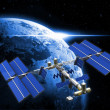 Satellite space station — Stock Photo #35302439