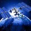 Satellite space station — Stock Photo #35320683