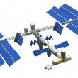 Satellite space station — Stock Photo #35361533