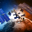Satellite space station — Stock Photo #35362491