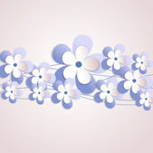 Vector background with Flower 27 — Stock Vector
