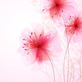 Vector background with Flower 31 — ストックベクタ