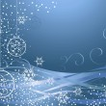 Blue Christmas decoration — Stock Photo