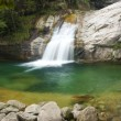 Stock Photo: Green waterfall in huang san,china