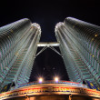 Stock Photo: Klcc famous landmark in malaysia