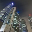 Photo of singapore night business district — Stock Photo