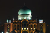 Putrajaya mosque — Stock Photo