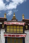 Tibetan monastry building — Stock Photo