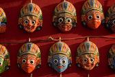 Masque au népal — Photo