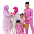 Stock Photo: Malay rayfamily