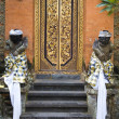 Stock Photo: Balinese temple door