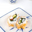 Stock Photo: Sushi on plate
