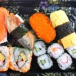 Stock Photo: Various sushies