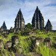 Ancient hindu temple in indonesia — Stock Photo