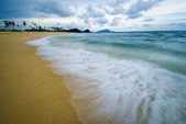 Beach long exposure — Стоковое фото
