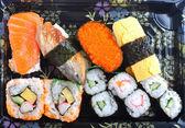 Various sushies — Stock Photo