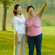 Royalty-Free Stock Photo: Happy asian mother and her daughter