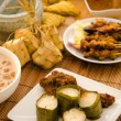 Stock Photo: Malay hari rayfoods lemang