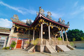Khoo kongsi temple at penang, world heritage site — Stock Photo