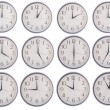 Collection of clock — Stock Photo #14930313