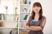Asian female — Stock Photo