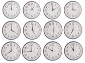Collection of clock — Stock Photo
