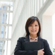 Stock Photo: Chinese female student in formal