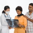 Stock Photo: Indian senior medical checkup