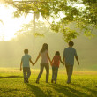 Family outdoor quality time — Stock Photo #17588603