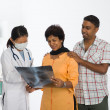 Stock Photo: Indian punjab senior doctor appointment medical checkup
