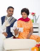 Punjabi family — Stock Photo