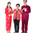 Chinese new year family — Stock Photo