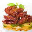 Chinese spare ribs — Stock Photo