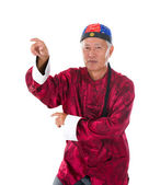 Kung fu master wong fei hung — Stock Photo