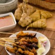 Satay traditional malay foods — Stock Photo #19206621
