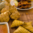 Ketupat malaysian traditional food — Stock Photo