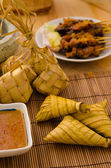 Ketupat malaysian traditional food — Foto de Stock