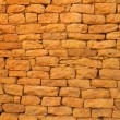 Stock Photo: Ancient red brick wall for background purpose