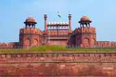 Red Fort of New Delhi, India — Stock Photo