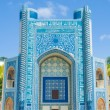 Abu Nasr Parscolorful islamic mosque in Afghanistan. — Stock Photo #23379056