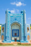 Abu Nasr Parsa colorful islamic mosque in Afghanistan. — Stock Photo