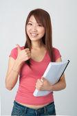 Chinese student — Stock Photo