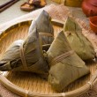 Chinese dumplings, zongzi usually taken during festival — Stock Photo