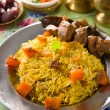 Stock Photo: Arab rice, ramadfood in middle east usually served with tando