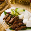 Stock Photo: Food, indonesian, malaysia, dish, indonesia, sate, meat, isolate
