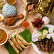 Stock Photo: Various popular malaysifood for ramadan, hari rayaidilfitri