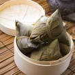 Stock Photo: Bazhang chinese dumplings, zongzi usually taken during duanwu fe