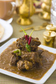Korma indian mutton curry dish — Stock Photo