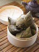 Bazhang chinese dumplings, zongzi usually taken during duanwu fe — Stock Photo
